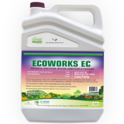 Bottle of EcoWorks insecticide