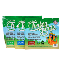 packages of turkey bags